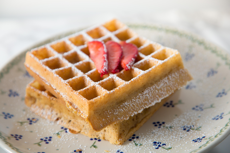 Sourdough Buttermilk Waffles