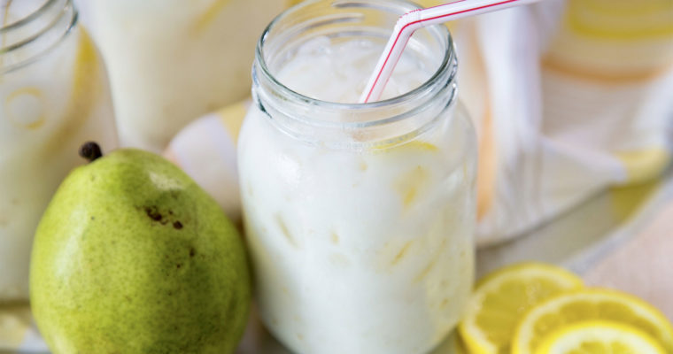 Creamy Pear Lemonade