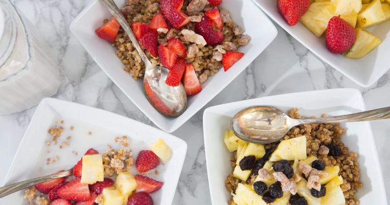 Breakfast Grain Bowls
