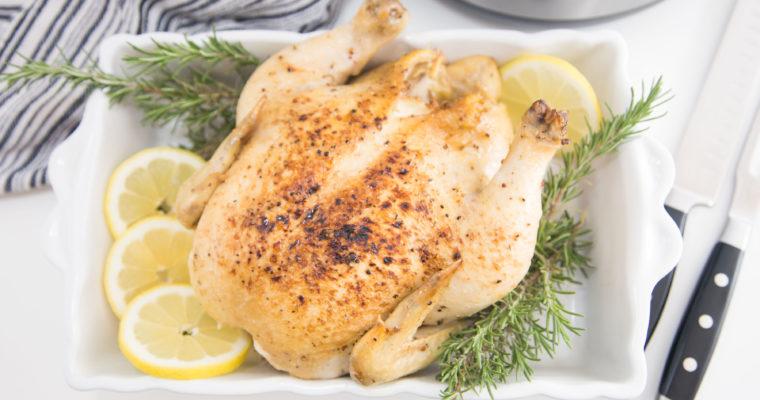 Pressure Cooker Roasted Chicken