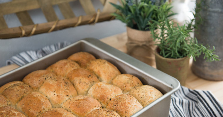 Rosemary Black Pepper Rolls