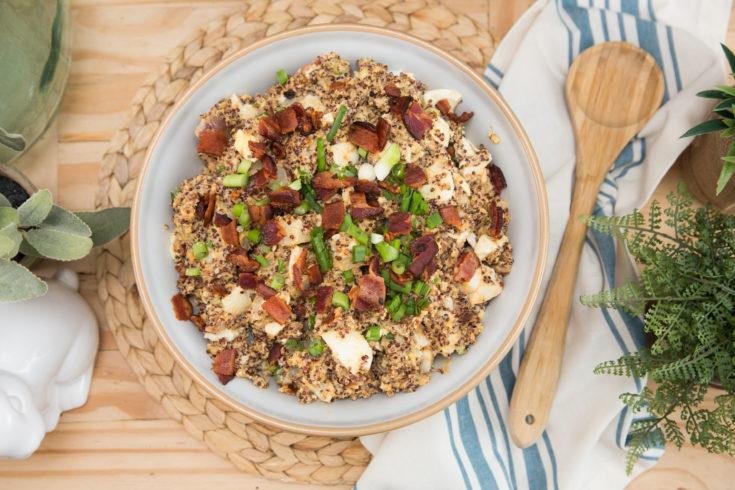 Pressure Cooker Quinoa Potato Salad